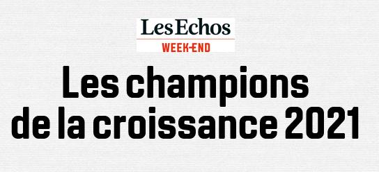 Delville Management au 108ème Rang dans le Palmarès des Champions de la Croissance sur 500 participants dans Les Echos Week-End