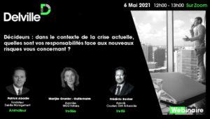 Delville Management - Webinair du 6 mai 2021