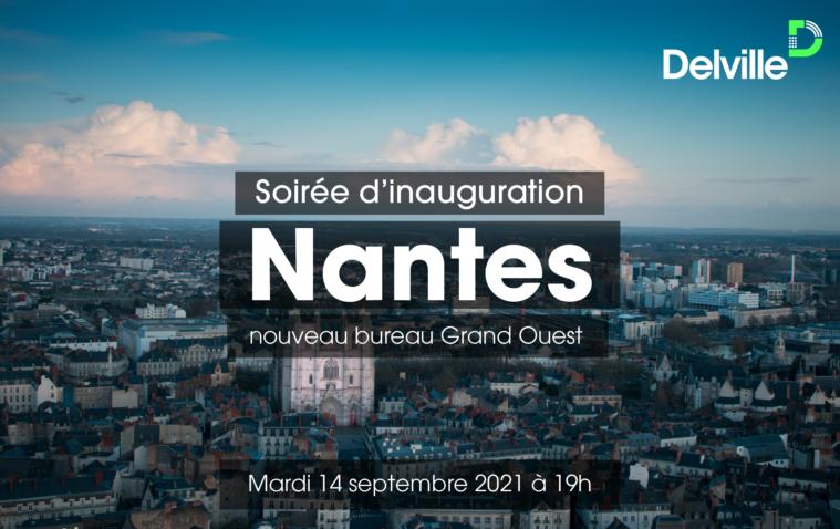 Evénement Inauguration du bureau de Nantes – mardi 14 septembre 2021